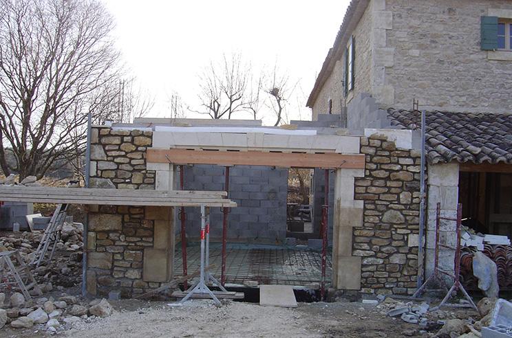 Batik construction neuve r novation luberon for Construction bastide